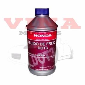 2 Frascos Fluído Freio Dot3 Honda Civic Fit Cr-v City Accord
