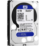 Disco Duro Western Digital Blue, 6tb, Sata 6 Gb/s, 5400 Rpm,
