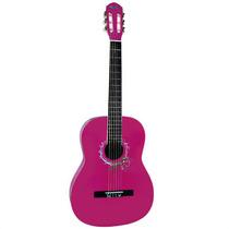 Violão Rosa Tagima Memphis Ac-39 Pink Nylon Acustico Estudo