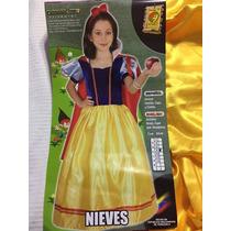 Disfraz Blanca Nieves Nuevo Original Marca: Carnavalito