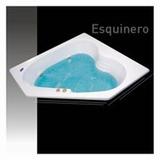Bañera Esquinera De 150 X 150 En Fibra De Vidrio