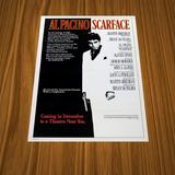 11 Pósters - Scarface - Cara Cortada - 1983 - 42x30 - Nuevos