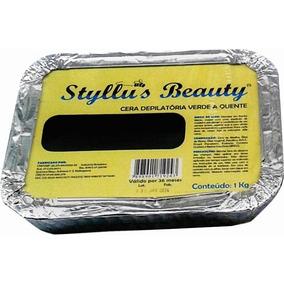 1 Kg De Cera Depilatoria Algas Styllus Beauty Bella #amelhor