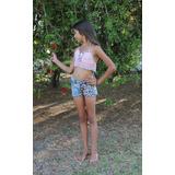 Top Para Nena Rosa Tejido Al Crochet Original De Diseño