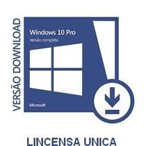 Windows 10 Pro 32/64 Bits - Chave Original® - Vitalício Fpp