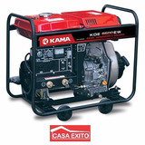 Generador/soldadora Kama Kde6500ew Diesel 220