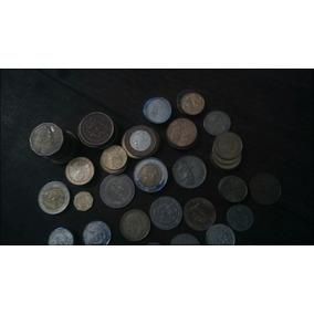 Monedas Varias Latinoamerica Y Europa (6624)