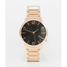 Relógio Lince Dourado Masculino (orient) Lrgj043l Wr 30