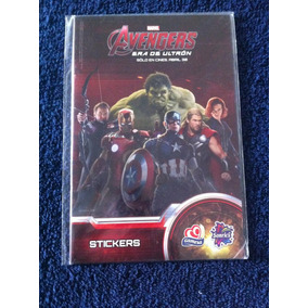 Album Completo Avengers Age Of Ultron De Gamesa