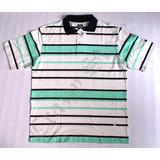 Camisa Pólo Xxl 55 Rap Hip Hop Verde Listrada Crazzy Store