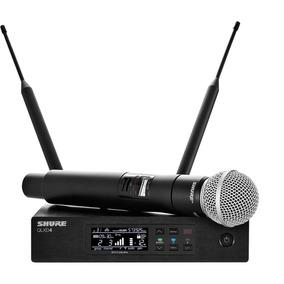 Microfone Sem Fio Shure Qlxd24/sm58