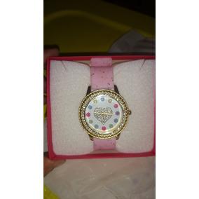 Reloj De Pulso Para Dama Cristal Swarowsky Corazon