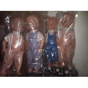 Muñeco Juguete De Plastico Mide 50cm Bebe Niña Navidad