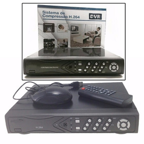 Dvr Stand Alone Cftv 8 Canais H264 Tempo Real 240fps Origin