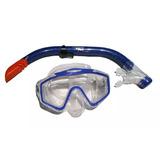 Snorkel Equipo Completo Para Buceo Aqua Con Valvula Luneta