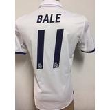 Nueva Camiseta De Real Madrid Titular 2016-2017 Bale 11