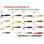 Isca Artificial Soft Camarão Monster 3x Ultra Soft P-m-g !!!