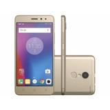 Smartphone Lenovo Vibe K6 32gb Dourado Dual Chip