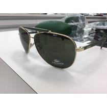 Oculos Solar Lacoste (estilo Aviador) L123s Original P. Entr