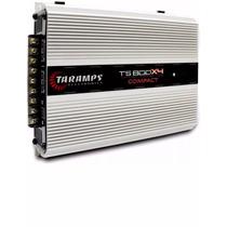 Modulo Amplificador Taramps Ts800 X4 800 Rms 4 Canais 2 Ohms