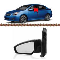 Retrovisor Nissan Sentra Manual Lado Esquerdo 07 08 09 2010
