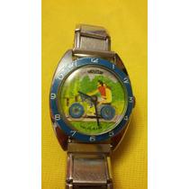 Raro Reloj De Pulsera Vintage Mentor