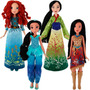Princesas Classic Fashion Merida/jasmine/mulan/pocahontas