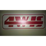 Emblema Gurgel Adesivo 4w-is 4wis Carajás X12 Tocantins