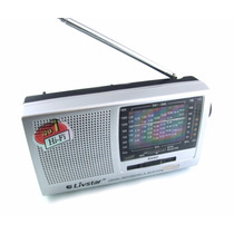 Radio Fm/tv/mw/12 Faixas Livstar Portatil
