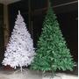 Arbol Navidad 210cm 1400 Ramas Frondoso Verde Blanco Adornos