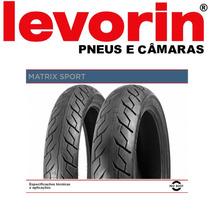 Pneu Tras Levorin Matx.sport 140/70-17 +kit Rel Ninja 250 Va