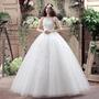 Vestido Noiva Princesa Armado Brilho Casamento Importado