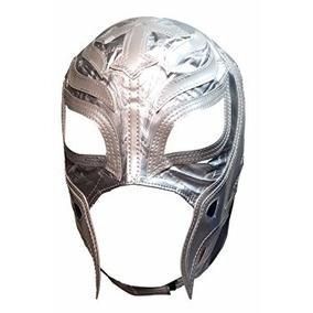 Wwe Rey Mysterio Kid Tamaño De Plata Réplica Máscara