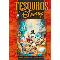 Livro Encadernado Tesouros Walt Disney Hq Quadrinhos Medioka