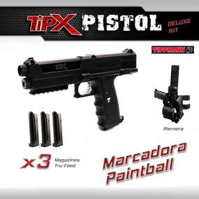 Tippmann Tipx Deluxe Kit Marcadora Pistola Gotcha Paintball