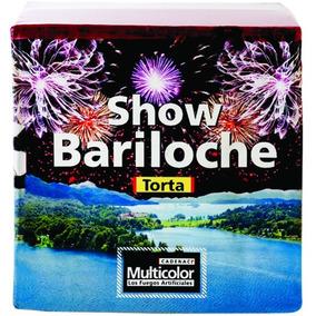 Torta Show Bariloche Fuegos Artificiales Multicolor