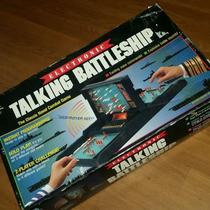 Batalla Naval 1989 Electrónico Milton Bradley