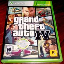 Videojuego Grand Theft Auto Iv Gta 4 Xbox 360 Fisico Sellado