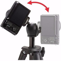 Tripé Compact Light Manfrotto Mkcompactlt-bk Camera Digital