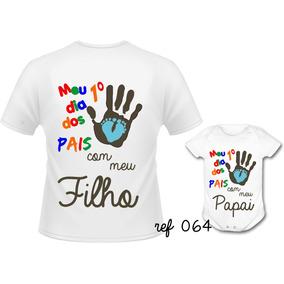 Kit Camisetas Personalizadas Dias Dos Pais Presente Pai