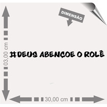 Vinil Adesivo Automotivo Frases Carro Rebaixados Rolê.