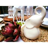 Figura Decorativa Elefante De Ceramica Decoracion Deco