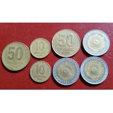 7 Monedas Antiguas De Argentina. 1992-93-94-95
