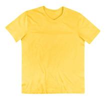 Camiseta Masculina Em Malha Com Decote V - Hering