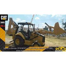 Retroexcavadora Caterpillar 416 E 2012 Con Pocas Horas