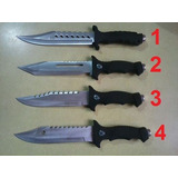 Cuchillo Columbia U.s.a Black C/brujula Supervivencia Funda