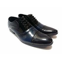 Zapatos Charolados Combinados Priamo Italy [gi0y0392]