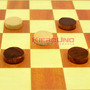 Damas Ajedrez Y Backgammon, 3 Juegos En 1 Tablero Madera