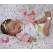 Bebê Reborn Corpo Inteiro Em Vinil Siliconado Pronta Entrega
