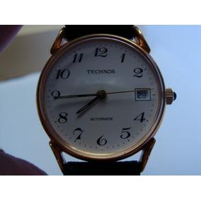 Antigo Relógio Technos Automático - Mac. - Novo, Sem Uso.